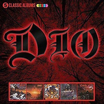 Dio <br>5 Classic Albums<br>5CD, Comp